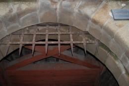 城壁の入り口