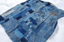 有松・鳴海絞りの襤褸布団