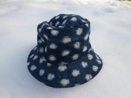雪ん子絣の帽子、私も欲しいな