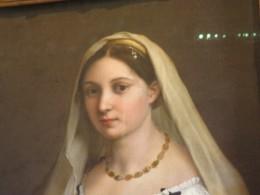 ラフアエロ「ヴェールの女」ラフアエロの恋人と言われている。