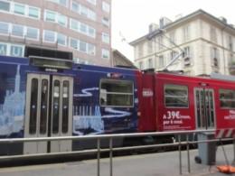 ミラノの街中を便利に走るトラム(路面電車)