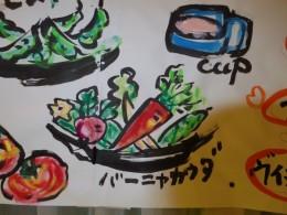 中川一政の絵みたい。イタリア、スペイン系のイラストですね。
