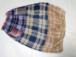 裾に細いゴムを入れました。バルーンスカートになりました。