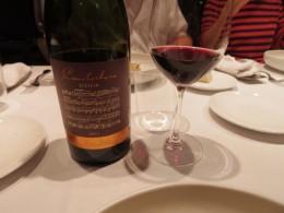シチリア産赤ワイン