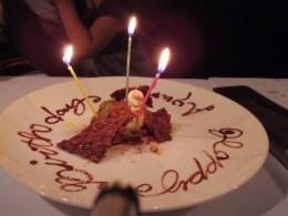 あゆみさんのお誕生日も兼ねて。ハッピーバースデー。