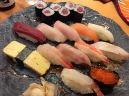 新潟に来たのだから、お寿司屋さんへ。