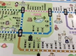 新潟から会津若松まで。磐越西線。