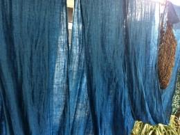 浅黄の綺麗な蚊帳
