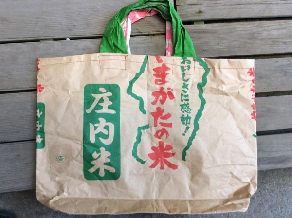 山形県庄内米袋