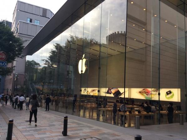 表参道Apple
