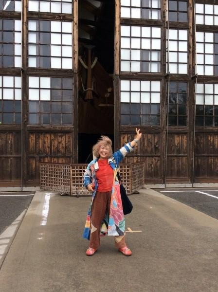 佐渡千石船博物館へ。