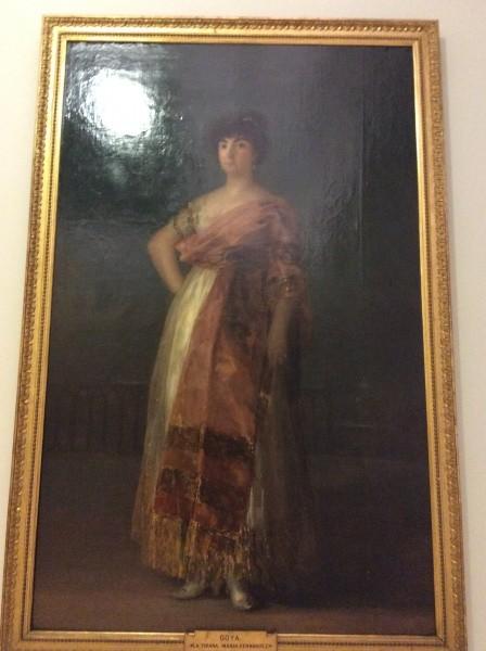 サンフェルナンド美術アカデミー ゴヤ作 ラ・テラーナ スペインの美術館ではフラッシュを使わなければ、撮影は、OKです。