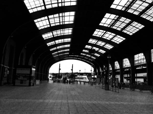 30分でア.コルーニャ駅に到着。