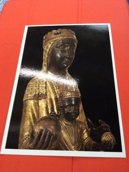 モンセラート大聖堂の黒いマリア像。