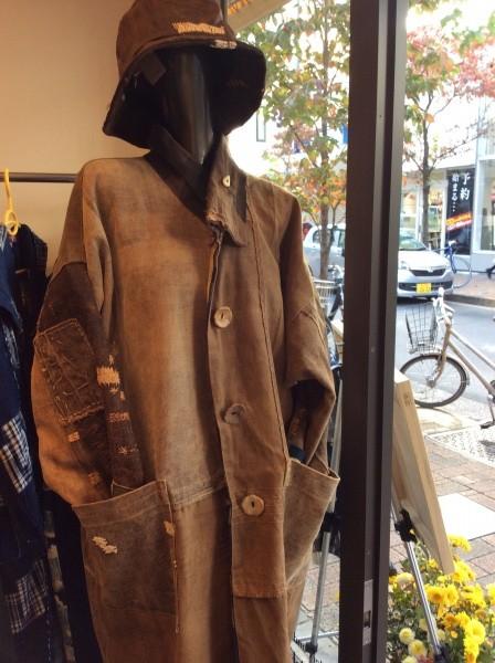 酒袋のコート。