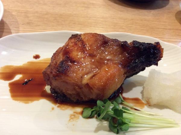 銀鱈の煮付け。 680円。