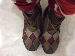 アスタシオンの靴。