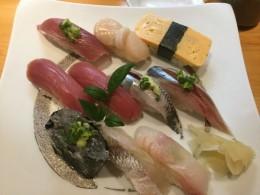 昨日のお寿司美味しかったなあ。