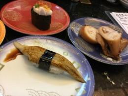 回転寿司へ。食は地方にあり。