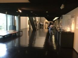 松方コレクション。 コルビジェの建築らしい空間。