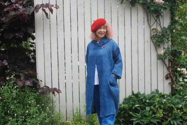 明治時代の古手の上布。 実はこの手の麻着物は、昨今全く、出てきません。 男性物の正装の着物です。 着心地が良く、暑い夏も、冷たく、今日も心地よい風が吹き抜けて行きます