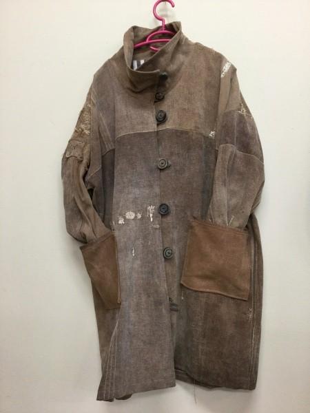 柔らかい酒袋のコート。