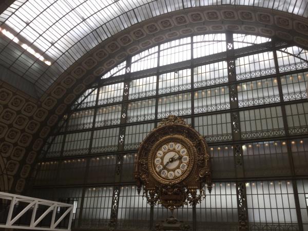 駅舎にあった大時計