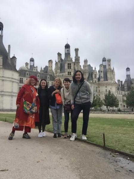 このお城はシュノンソー。