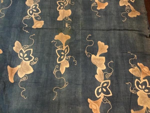 江戸期の筒描き布団