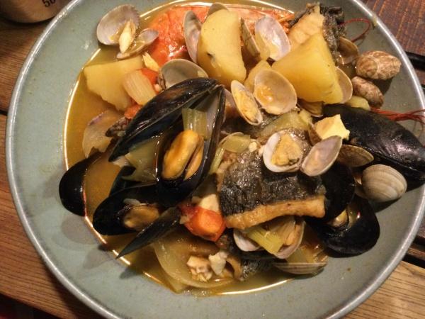 魚介類スープ