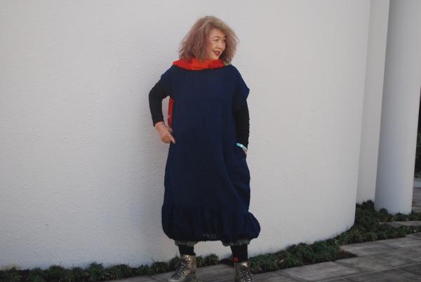 蚊帳バルーンワンピース(15-21)