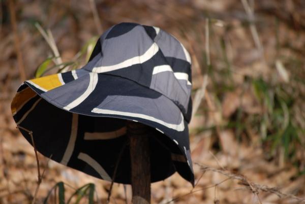 鯉幟帽子 黒 0257